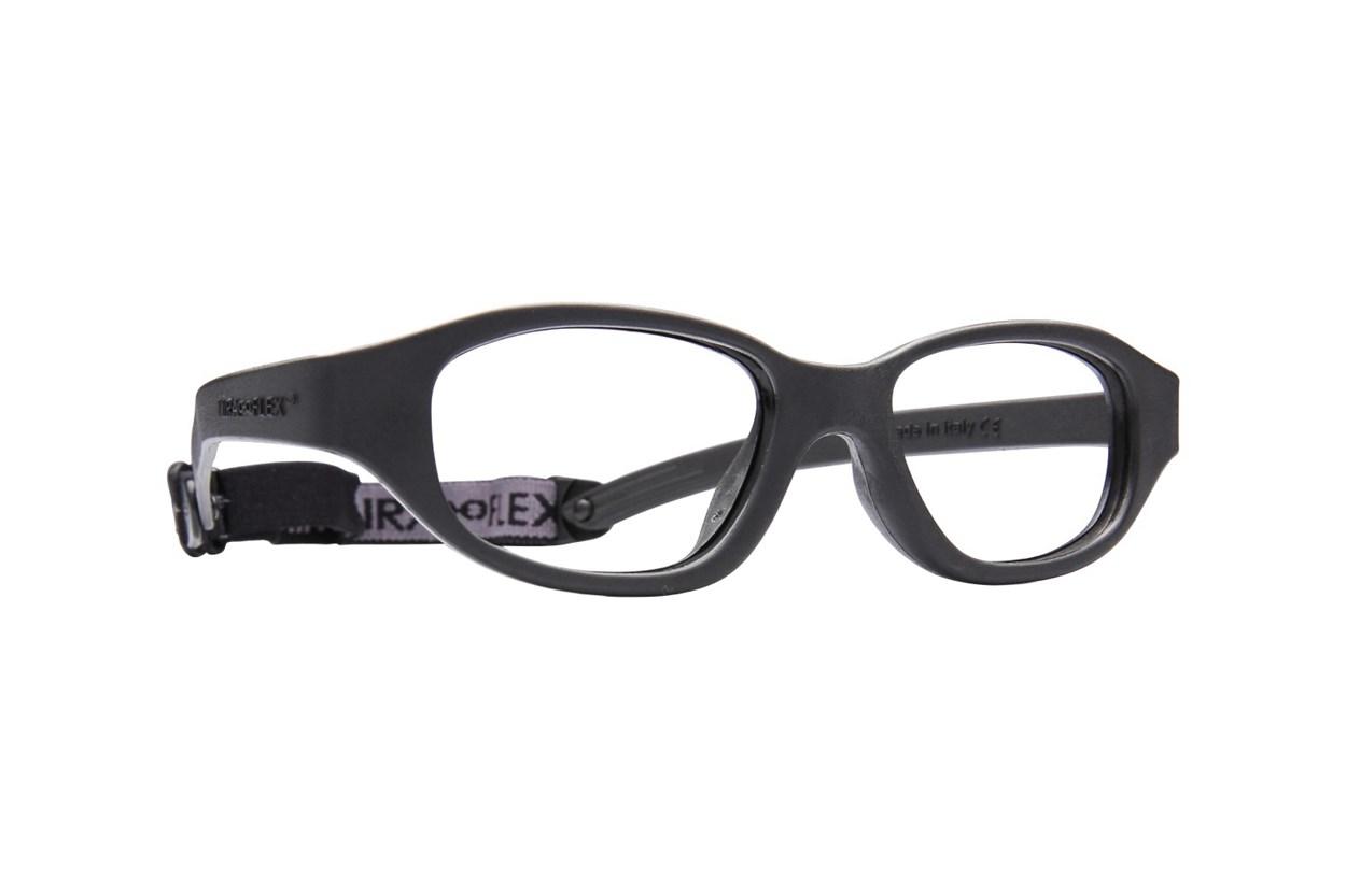 Miraflex Eva (7-10 Yrs) Black Eyeglasses