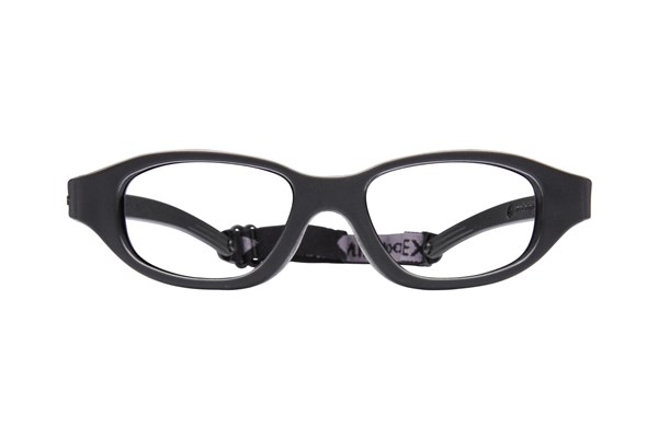 Miraflex Eva (7-10 Yrs) Eyeglasses - Black