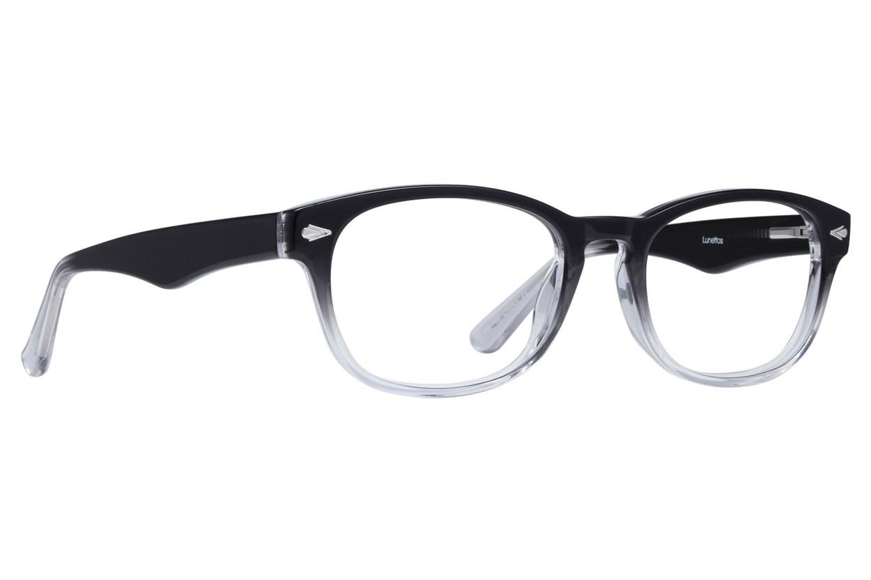 Lunettos Alex Black Eyeglasses