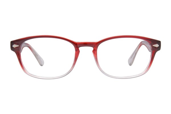 Lunettos Alex Eyeglasses - Red