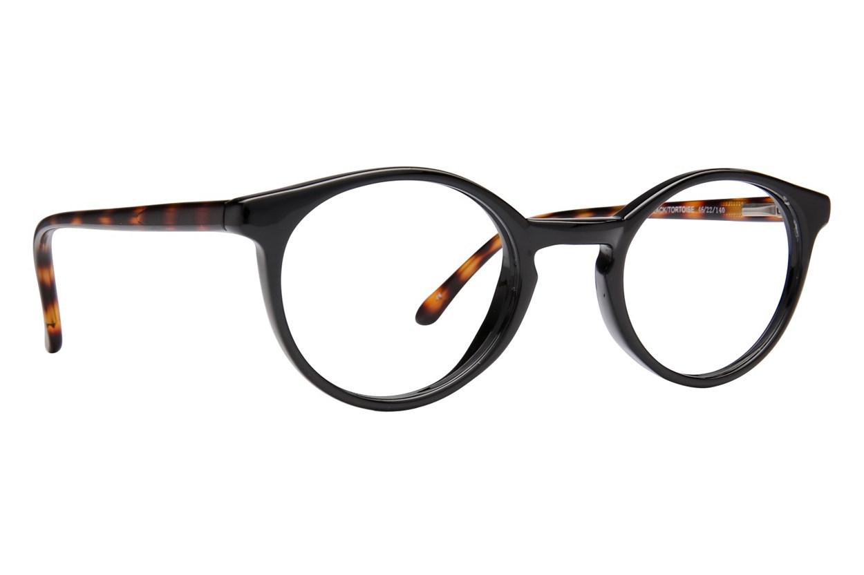 Lunettos Charlie Black Eyeglasses