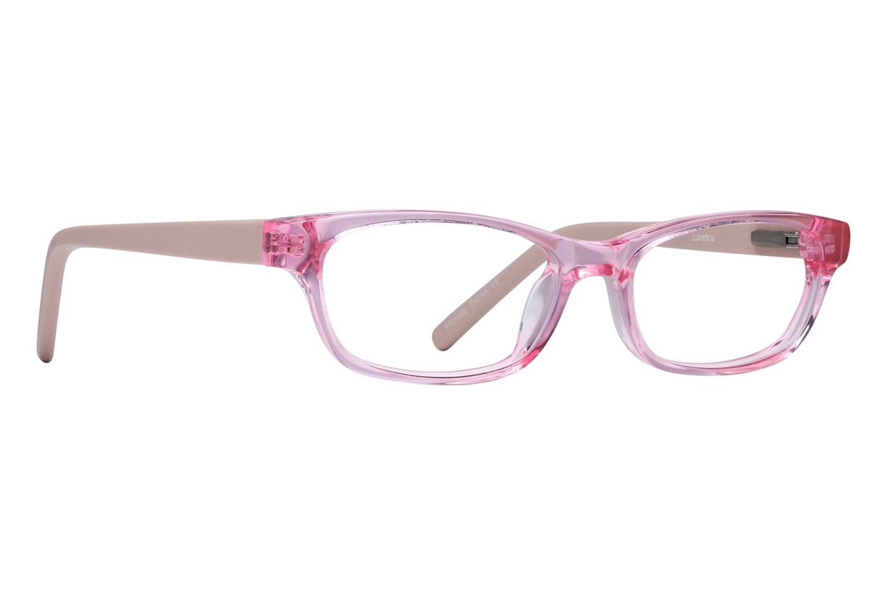 Lunettos Dakota Pink Eyeglasses