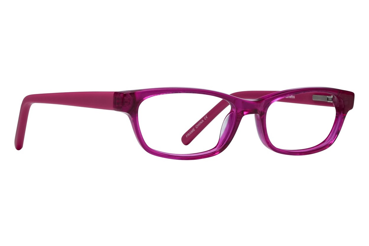 Lunettos Dakota Red Eyeglasses