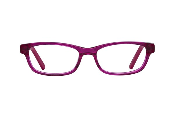 Lunettos Dakota Eyeglasses - Red