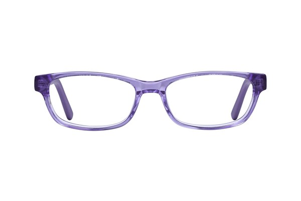 Lunettos Dakota Purple Eyeglasses
