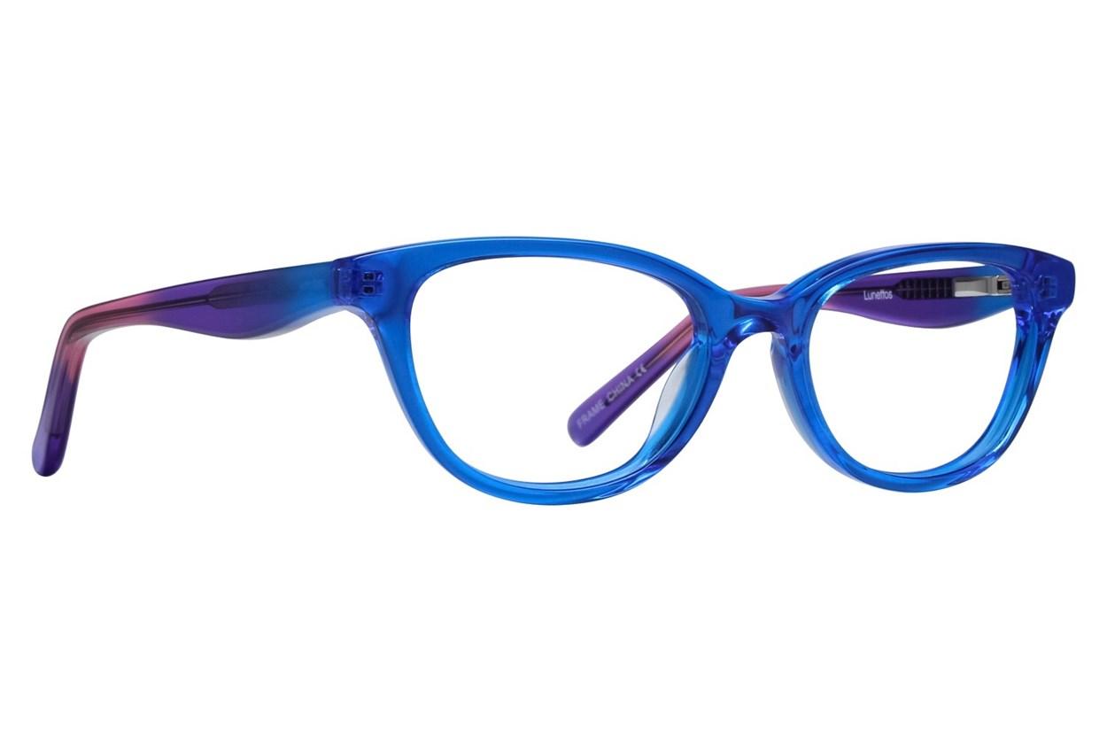 Lunettos Declan Blue Eyeglasses