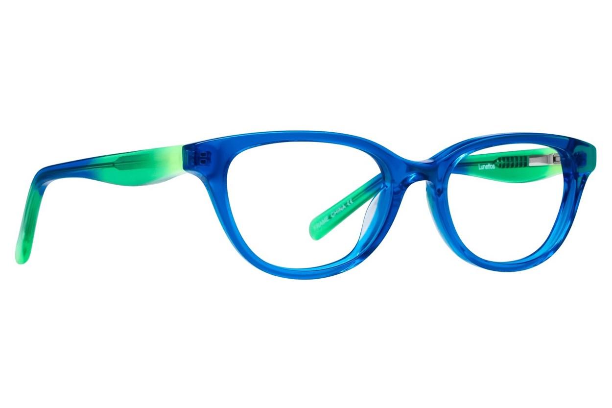 Lunettos Declan Turquoise Eyeglasses