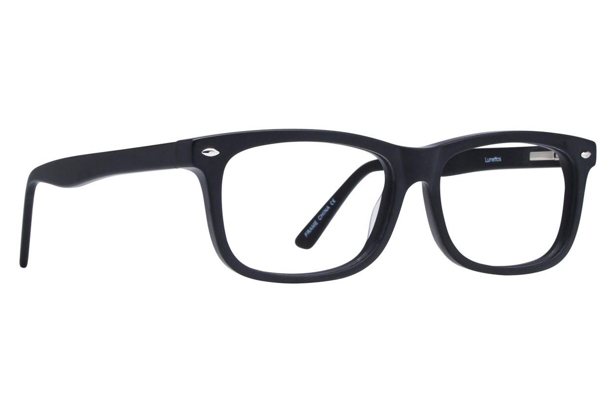 Lunettos Dylan Black Eyeglasses