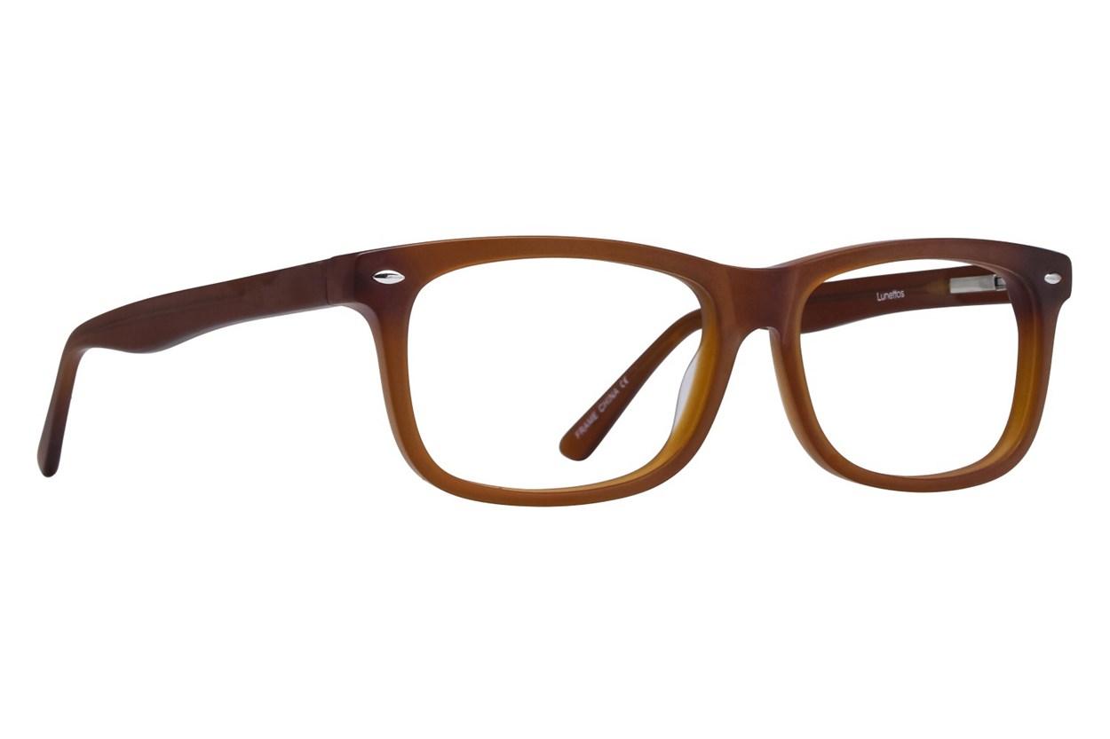 Lunettos Dylan Brown Eyeglasses