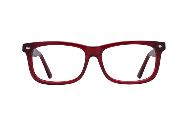Lunettos Dylan Red Eyeglasses
