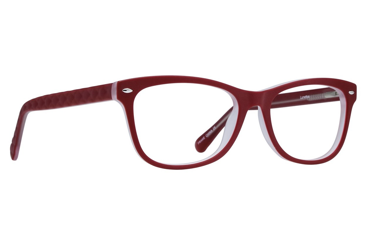 Lunettos Georgia Eyeglasses - Red