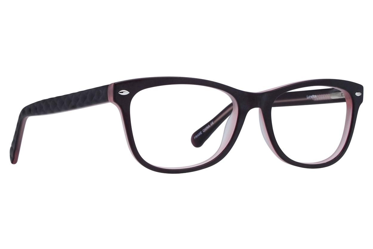 Lunettos Georgia Purple Eyeglasses