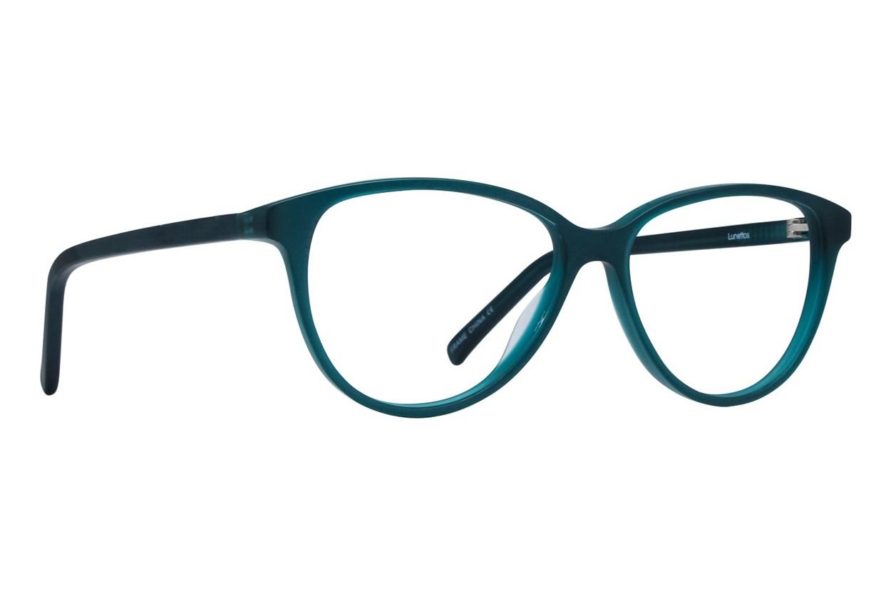 Lunettos Hannah Blue Eyeglasses