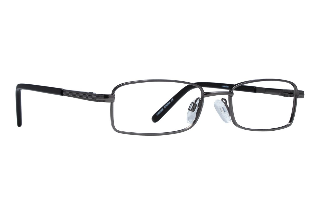 Lunettos Harley Black Eyeglasses