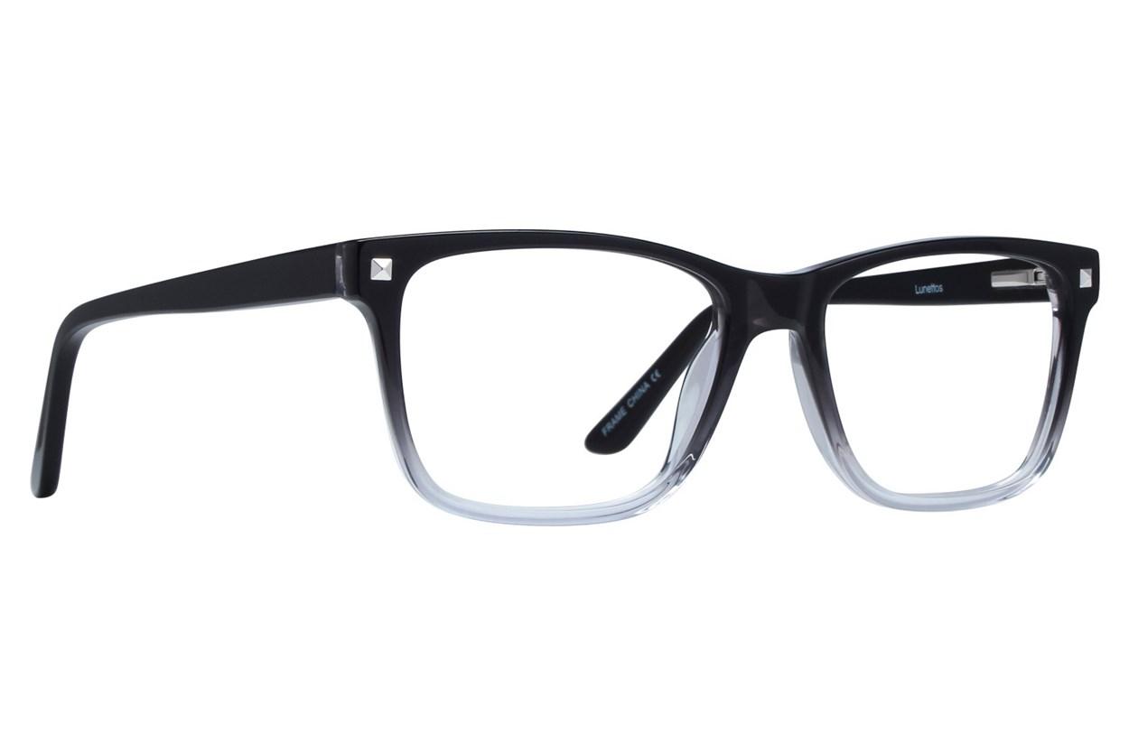 Lunettos Harper Black Eyeglasses