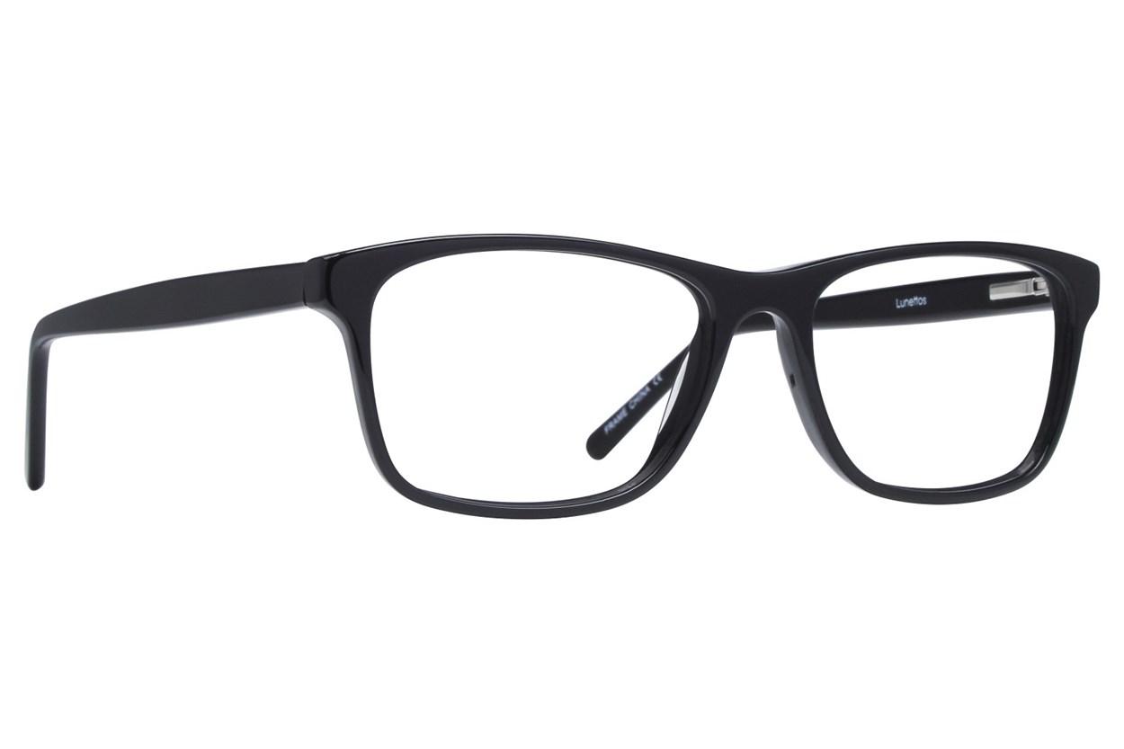 Lunettos Kyle Black Eyeglasses