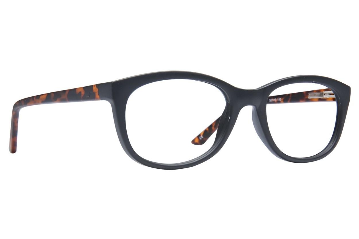 Lunettos Diane Black Eyeglasses