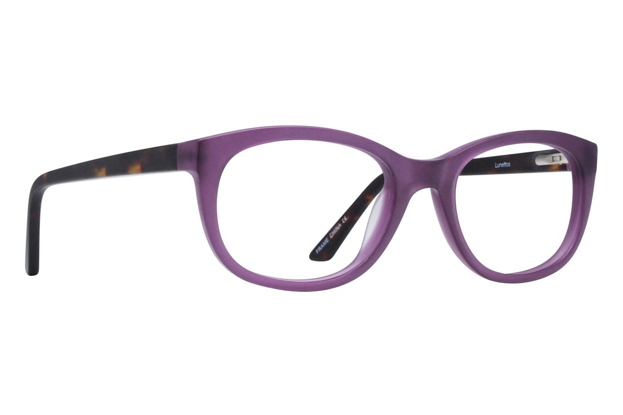 Lunettos Diane Purple Eyeglasses