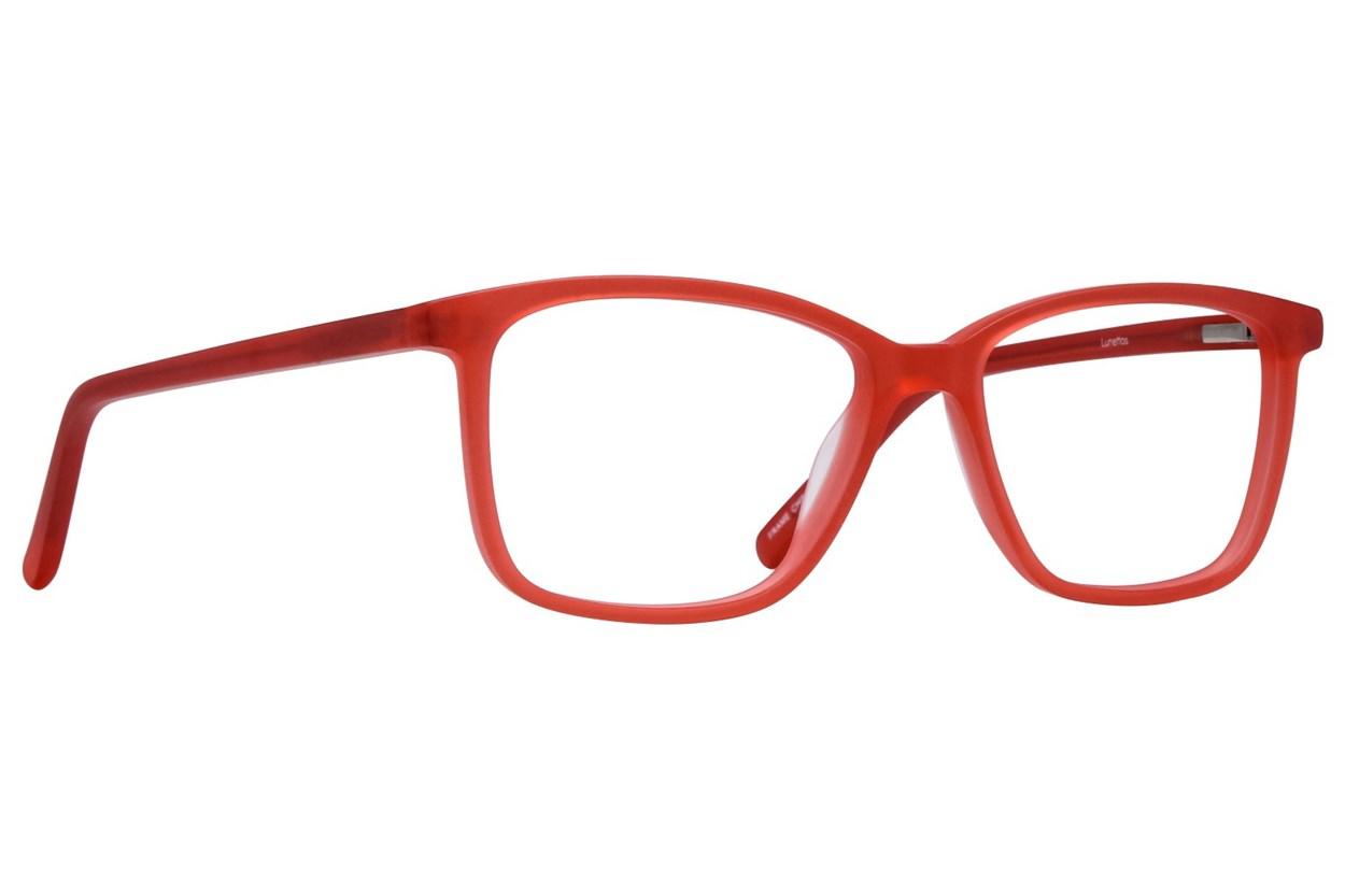 Lunettos Lee Red Eyeglasses