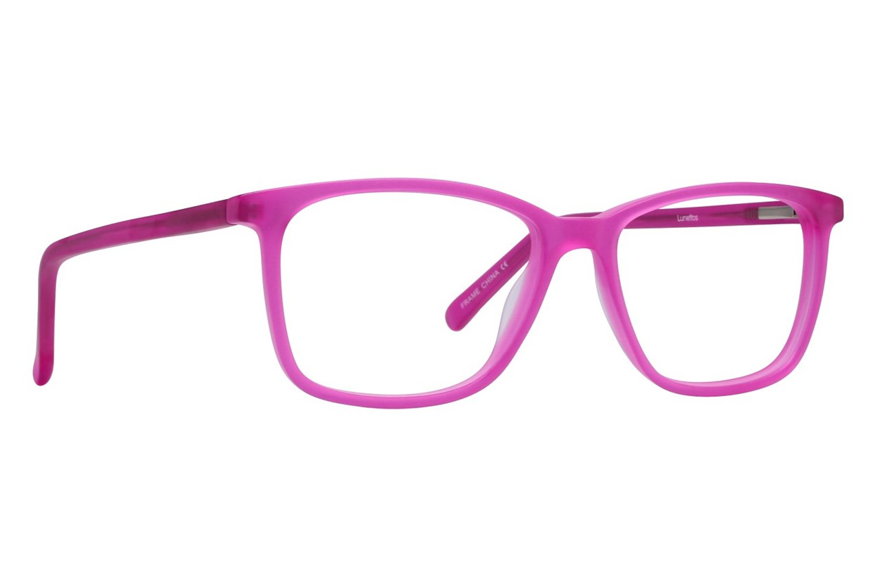 Lunettos Lee Pink Eyeglasses