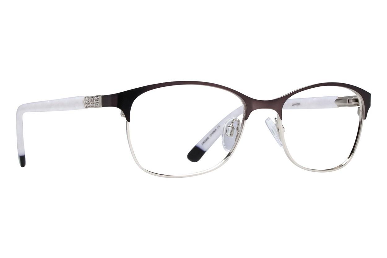 Lunettos Riley Gold Eyeglasses
