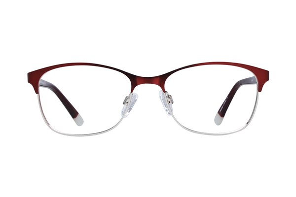 Lunettos Riley Eyeglasses - Red