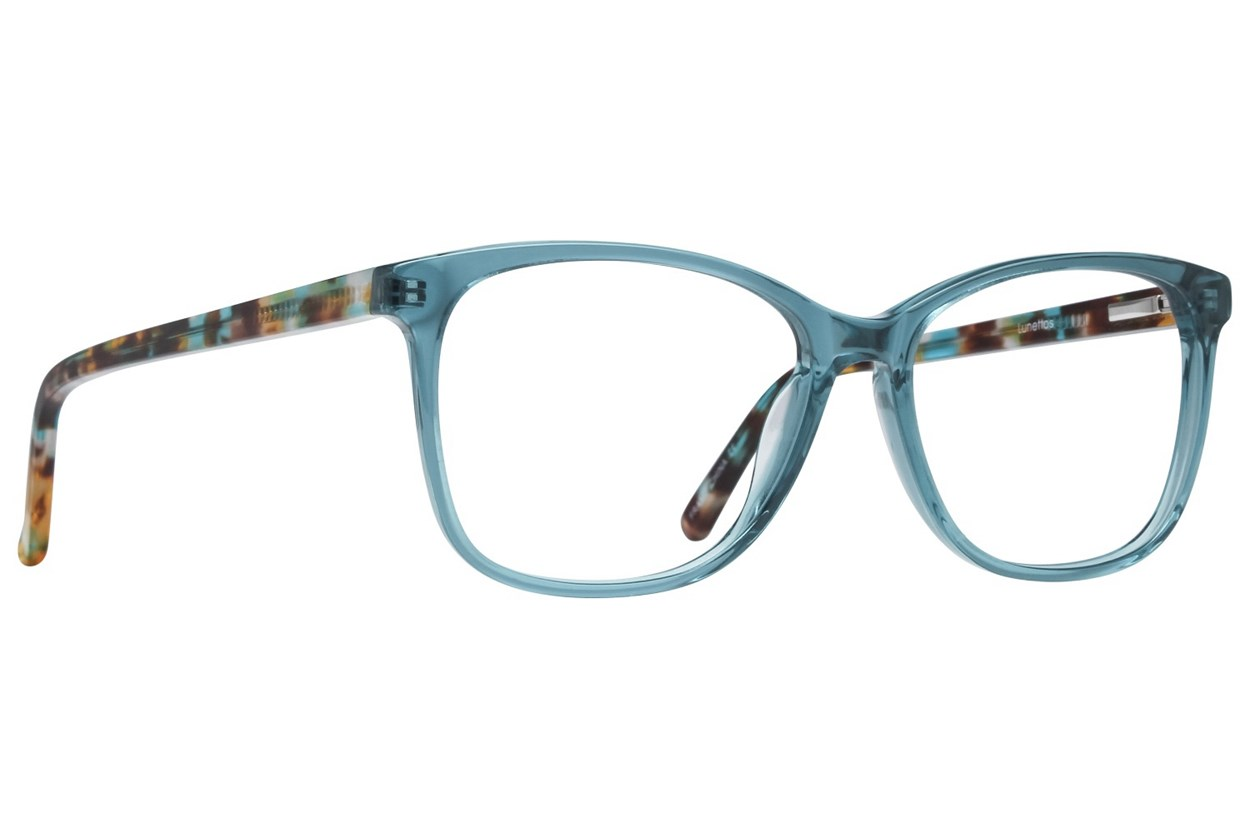 Lunettos Skyler Turquoise Eyeglasses