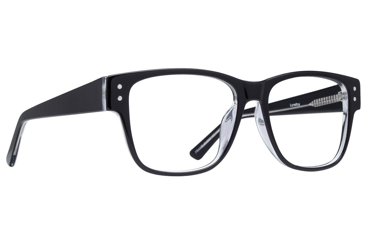 Lunettos Tyler Black Eyeglasses