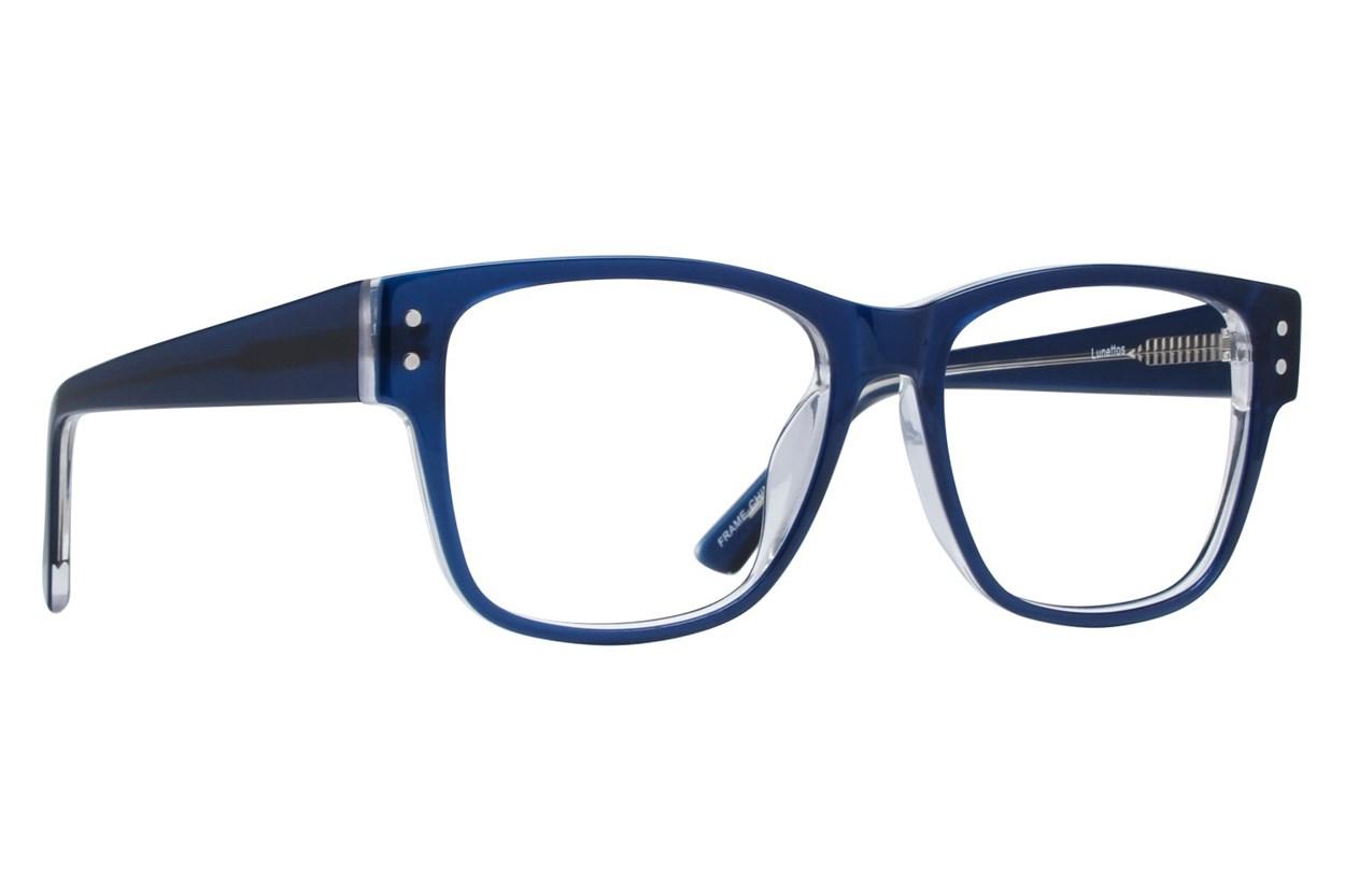 Lunettos Tyler Blue Eyeglasses