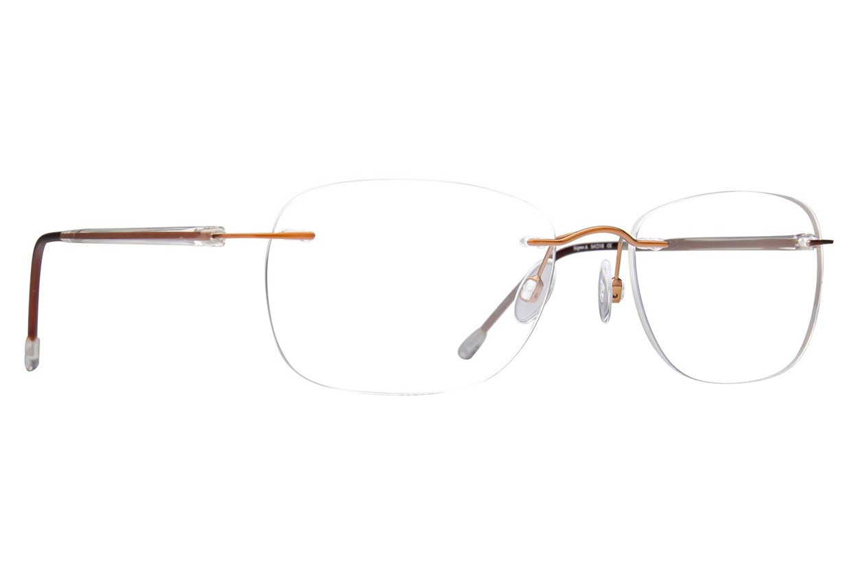 Invincilites Sigma A Brown Eyeglasses