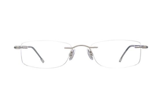 Invincilites Sigma S Silver Eyeglasses