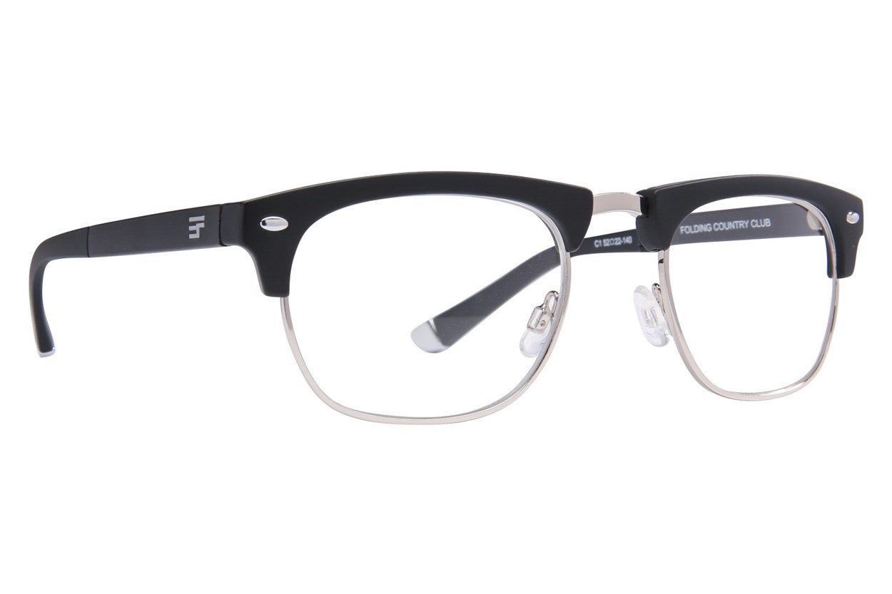 Eyefolds The Country Club Reader Black ReadingGlasses