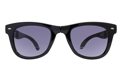Eyefolds The Beachcomber Reading Sunglasses Black