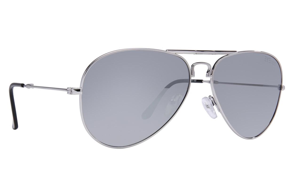 Eyefolds The Ace Silver Sunglasses