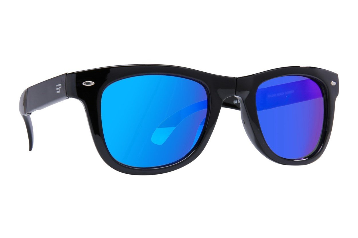 Eyefolds The Beachcomber Black Sunglasses
