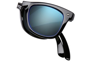 Click to swap image to alternate 1 - Eyefolds The Beachcomber Black Sunglasses
