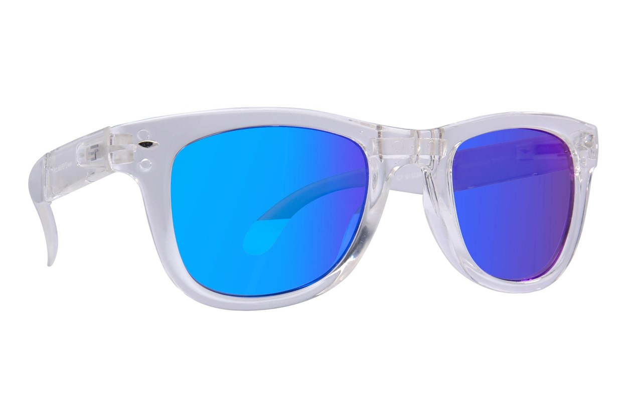 Eyefolds The Beachcomber Clear Sunglasses