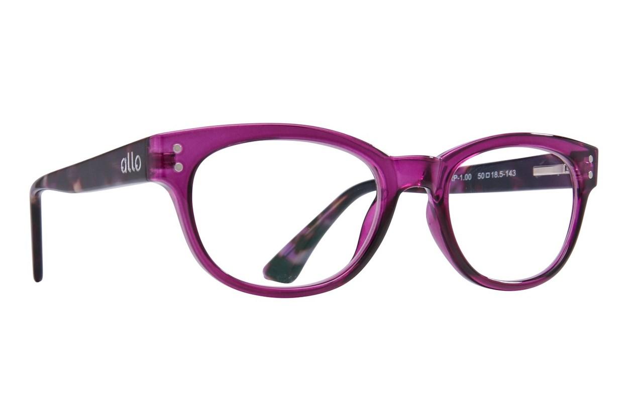 allo Hello Reading Glasses Purple