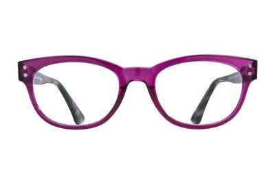 allo Hello Reading Glasses Purple