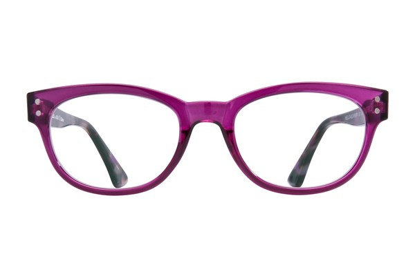 allo Hello Reading Glasses ReadingGlasses - Purple