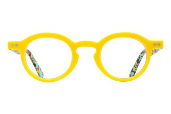 allo Namaste Reading Glasses Yellow