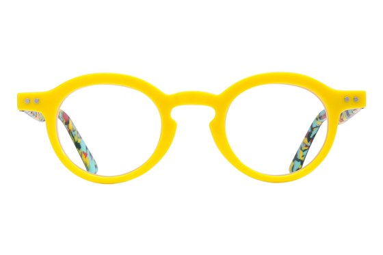 allo Namaste Reading Glasses Yellow ReadingGlasses
