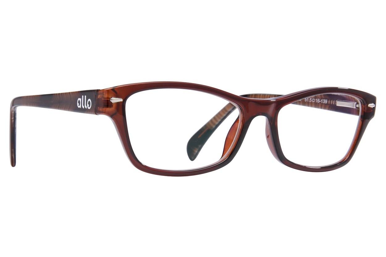 allo Hola Reading Glasses Brown ReadingGlasses