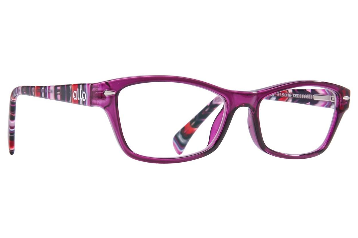 allo Hola Reading Glasses Purple