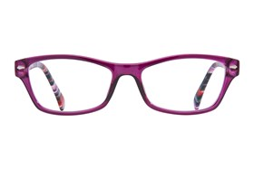 allo Hola Reading Glasses Purple