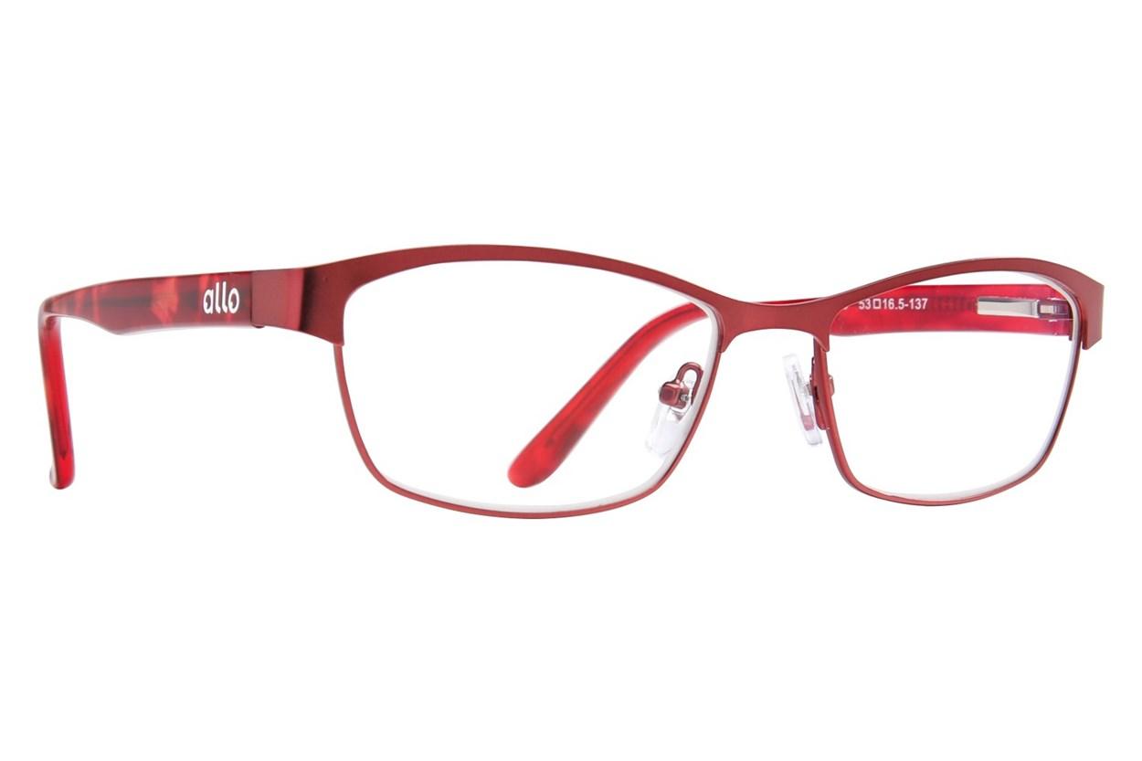 allo Bonjour Reading Glasses Red