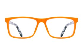 allo Shalom Reading Glasses Orange