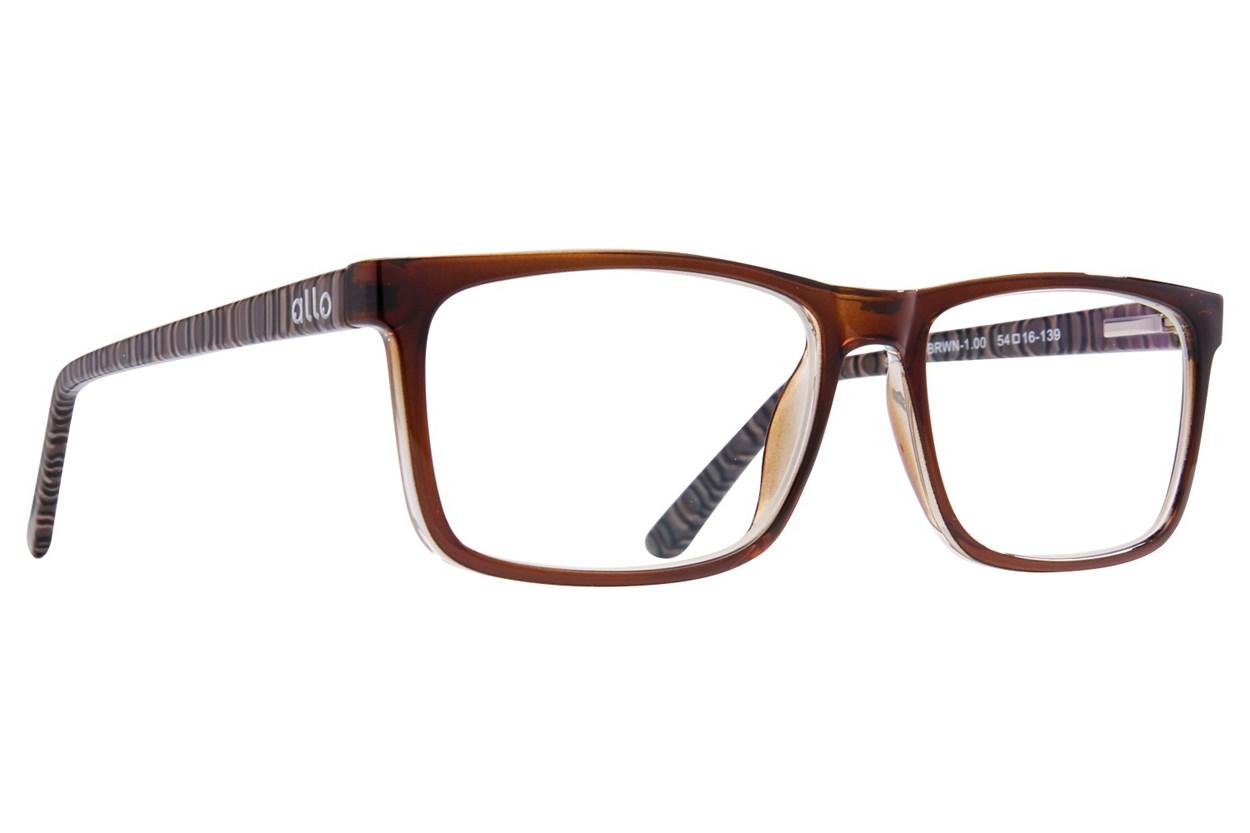 allo Shalom Reading Glasses Brown ReadingGlasses