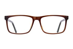 allo Shalom Reading Glasses Brown