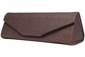 CalOptix Metro Eyeglass Case Brown